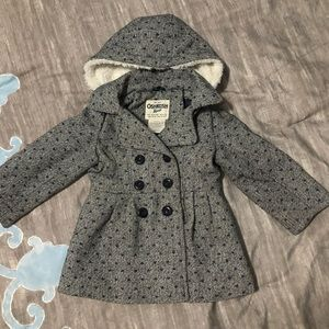 Little girls dress coat.
